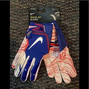 New Vapor Jet Nike Buffalo #BillsMafia gloves LG
